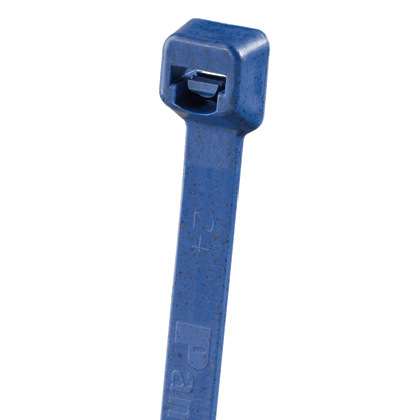 "3.9"" Pan-Ty® Metal Detectable Cable Tie, Polypropylene (18 lb.) (Blue)"