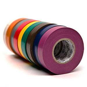 10-Roll Sleeves-Electrical Tape